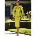Envelope Collar Suit by Tally Taylor