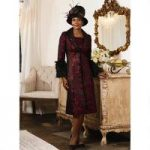 Opulent Jacquard Dress and Jacket by Luxe EY