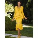 Lovely Lattice Knit 3-Pc. Suit by EY Boutique