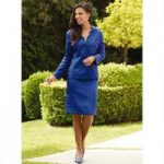 Scalloped Jacquard Suit by GMI