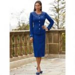 Necklace of Shine Knit Suit by Lisa Rene