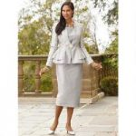 Mosaic Shimmer Jacquard 3-Pc. Suit by EY Boutique
