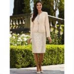 Textural Medley Jacket Dress by EY Boutique