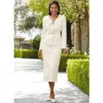Touch of Ruffles Suit by EY Signature