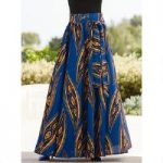 Dashiki Maxi Skirt by Studio EY