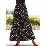 Geo-Centric 5-Yard Maxi Skirt by Studio EY