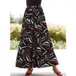 Geo-Centric 5-Yard Maxi Skirt by Studio EY