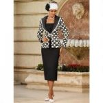 Designer Dots Suit by EY Signature