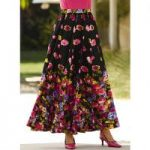 Secret Garden 5-Yard Maxi Skirt by Studio EY