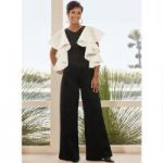 Runway of Ruffles Knit Jumpsuit by Studio EY