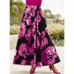 Va-Va-Bloom 5-Yard Maxi Skirt by Studio EY