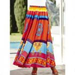 Brilliant Colors 5-Yard Maxi Skirt by Studio EY