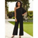 Sideswept Jumpsuit by Studio EY
