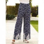 Crochet-Trim Pant by Studio EY