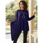 Asymmetrical Sleeved Top by Studio EY