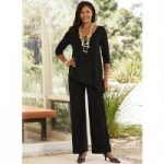 Asymmetric Overlay Jumpsuit Studio EY