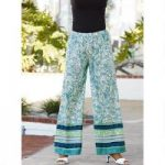 True Blues Palazzo Pant by Studio EY