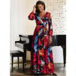 Bold Petals Dress by EY Boutique