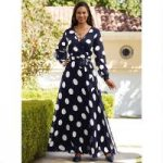 Going Dotty Maxi Dress by Studio EY