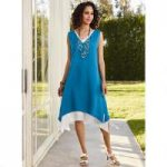 Layered Duotone Dress by EY Signature