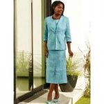 Embroidered 3-Pc. Skirt Set by EY Boutique