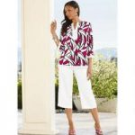 Sail Print Linen Pantset by EY Boutique