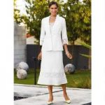 Coastal Linen 3-Pc. Skirt Set by EY Signature