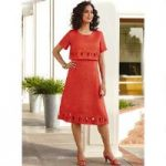 Fashionable Circles Popover Dress by EY Signature