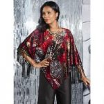 Fringed Velvet Top by Studio EY