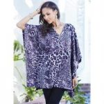 Something Wild Poncho Top by Studio EY