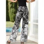 Floral Contrast Pant by Studio EY