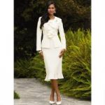 Feminine Ruffled Suit by EY Signature