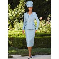 Luxe EY Luxury in Bloom Jacquard 3-Pc Suit