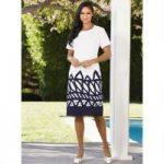 Patterns Linen Dress by Studio EY