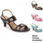 Grommet Slingback by EY Boutique