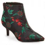 Rich Brocade Bootie by EY Boutique