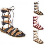 Snakette Gladiator Sandals by GC Shoes