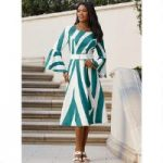 Striking Stripes Dress by EY Boutique