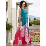 Spirals of Paisley Maxi Dress by EY Boutique