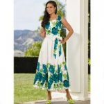 Fresh Flowers Maxi Dress by EY Boutique