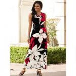 Bold Floral Maxi Dress by EY Boutique