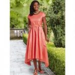 Asymmetric Jacquard Dress by EY Boutique