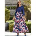 Blooming Roses Maxi Dress by EY Boutique