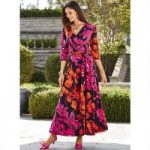 Vivid Blooms Maxi Dress by EY Boutique