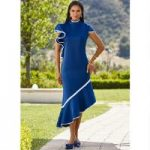 Cascade Rich Knit Dress by EY Boutique
