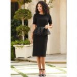 Just Enough Ruffle Dress by EY Boutique
