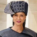 Elegantly Wrapped Church Hat by Lisa Rene Black Label