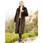 PY Reversible Faux Mink Coat by Luxe EY