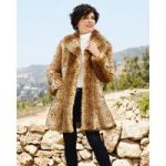PY Luxury of Lynx Faux-Fur Coat by Luxe EY