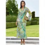 Color Closeout Exotique Tunic and Skirt Set by EY Boutique